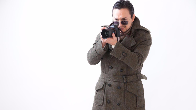 探偵の写真
